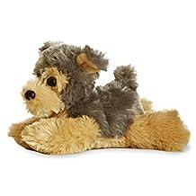 Aurora Cutie Yorkie Terrier Dog 8-Inch Mini Flopsie Stuffed Animal