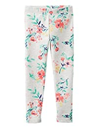 Carter's Baby Girls' Floral Print Leggings, 24 Months