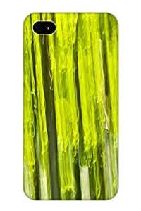 Ellent Design Green Forest Abstract Case Cover For Iphone 4/4s For New Year's Day's Gift
