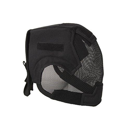 ALEKO PBM219BK Air Soft Protective Mask Full Mesh Wire Full Face, Black Color by ALEKO