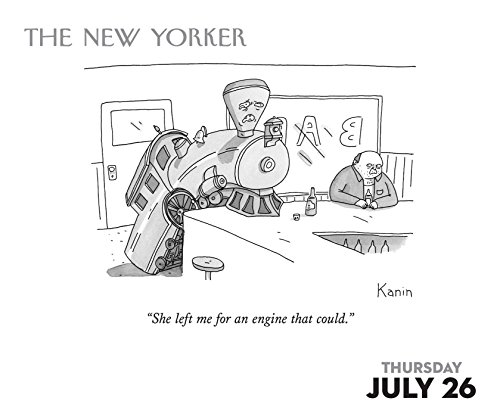 Free Comic Book Day Dubai: Cartoons From The New Yorker 2018 Day-to-Day Calendar