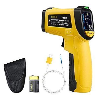 URCERI Infrared Thermometer Digital IR Laser Non Contact Temperature Gun (IR-01)