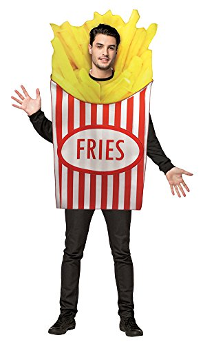 BESTPR1CE Mens Halloween Costume- French Fries Adult Costume -