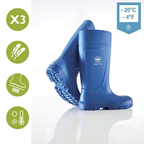 Bota de Agua Bekina Modelo Steplite Azul S4 SRC Ci con Puntera metálica