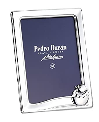 Rahmen 9 * 13 KÜken pio-pio Silber Duran