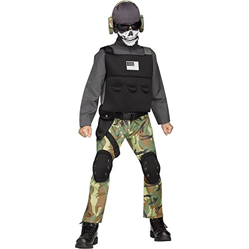 Fun World Skull Soldier Costume