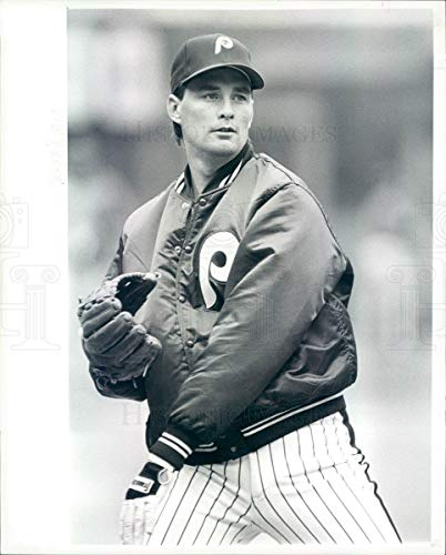 - Historic Images - 1986 Vintage Press Photo MLB Philadelphia Phillies Pitcher Don Carman - rkf12647