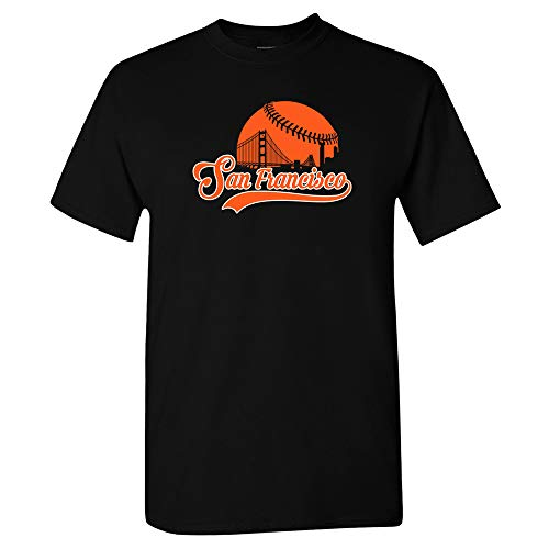 San Francisco Baseball Skyline Shirt (2XL) - Giants San Francisco Shirt