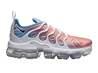 check out 9362c dffbf Amazon.com | Nike Women's Air Vapormax Plus Lava Glow/Blue ...