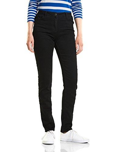 Cecil, Jeans Slim Donna Schwarz (Black Denim 10273)