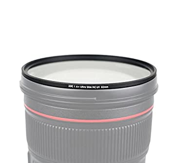 Vidrio /óptico de Jap/ón 49mm Ultra-Slim Nano Coatings Weather-Sealed Marco de Aluminio fresado CNC Filtro UV Photography Filter para Nikon Sony Canon Fujifilm Olympus Tamron Sigma Pentax