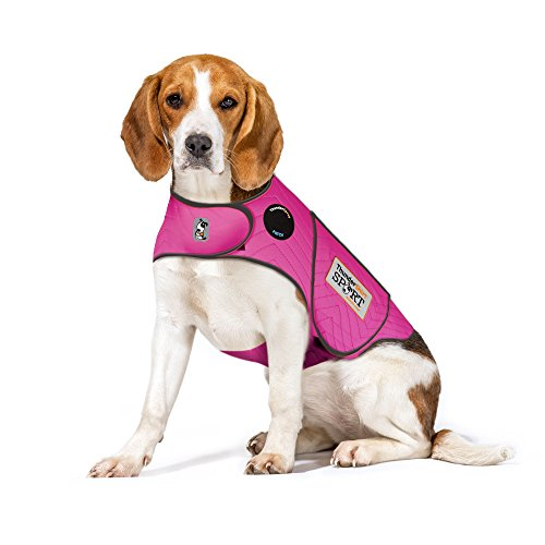 Thundershirt Sport Dog Anxiety Jacket, Fuchsia, Medium