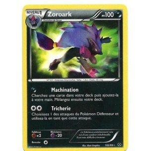 Nintendo – Tarjeta Pokémon Zoroark Secrete Holo 102/99 N & B ...