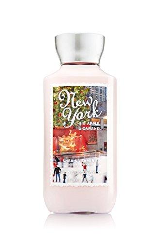 (Bath & Body Works Shea & Vitamin E Lotion New York Big Apple Caramel)
