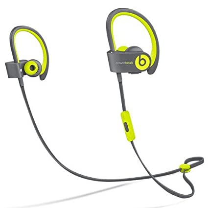 7fe7c74546f Amazon.com: Beats by Dr dre Powerbeats2 Wireless In-Ear Bluetooth Headphone  with Mic - Shock Yellow (Renewed): Electronics
