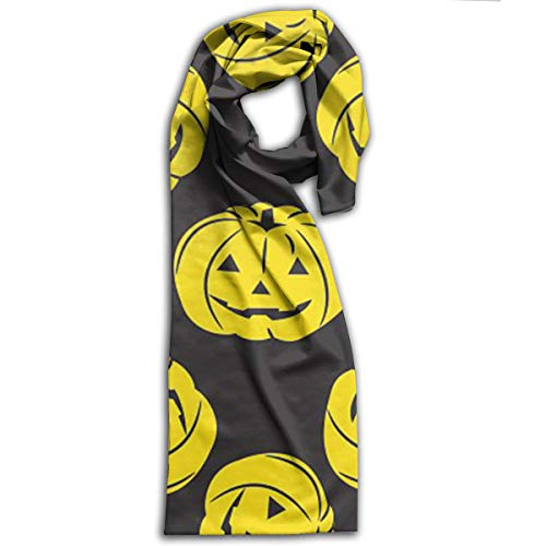 MatthewConnersw Unisex Happy Halloween Pumpkin Adult Scarf Wraps