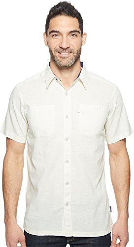 Linen Blend Camp Shirt - 6