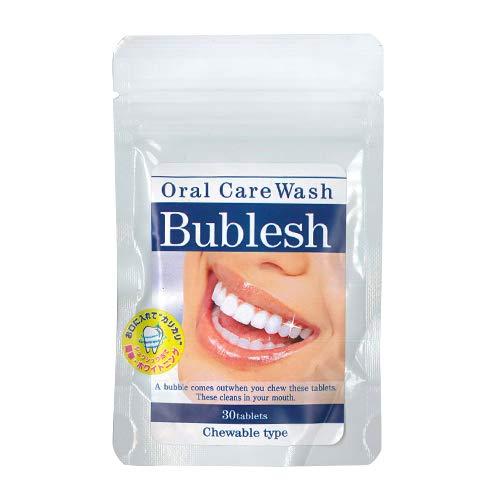 オーラルケアウォッシュ バブレッシュ (Oral Care Wash Bublesh) 30粒 × 10個セット B07K1F6RN4  10個