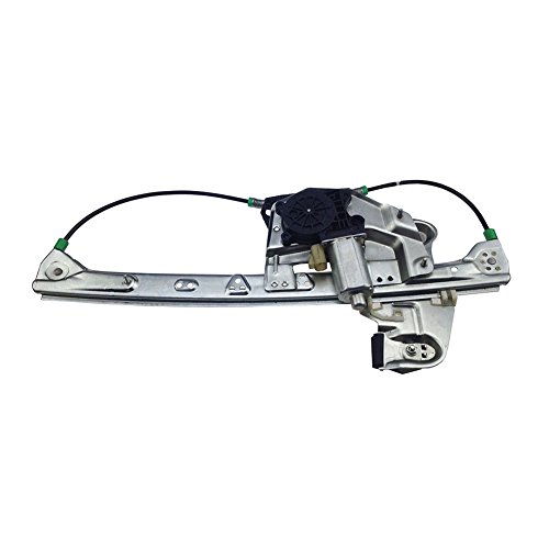 ACUMSTE Rear Left Driver Side Power Window Regulator with Motor 741-583 10393234 for Cadillac DeVille 2000-2005 ()