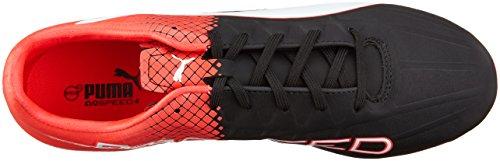 Homme Entrainement Football 4 blk De Chaussures Es wht 5 F6 Puma Noir red Fg S6w4zxnf