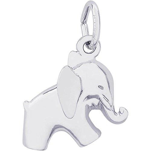 Rembrandt Elephant Charm (Rembrandt Charms Elephant Charm, 14K White Gold)