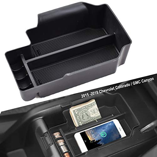 EDBETOS Center Console Organizer Tray for Chevy Colorado GMC Canyon 2015 2016 2017 2018 2019 SLT ZR2 Accessories Organized Console Device