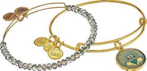 - Alex and Ani Art Infusion, Claddagh II Set Bangle Bracelet
