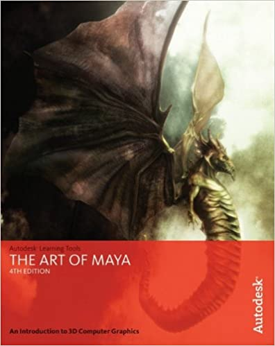 Book The Art of Maya: An Introduction to 3D Computer Graphics