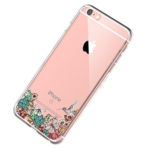 Ultra Case 6S Apple Cover 6S Morbida 06 Custodia iPhone 6Plus iPhone Custodia Cover Protettiva Sottile iPhone Silicone TPU per 6S Graffio Caso Anti Copertura HTT8wx