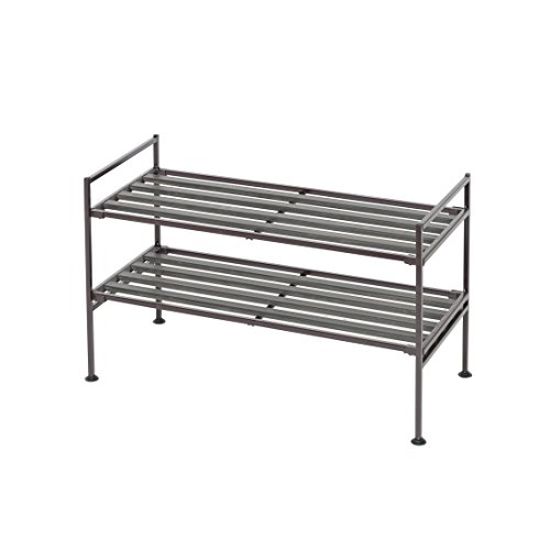Tier Stackable Shoe Rack - 9