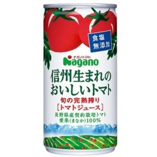 Nagano Tomato Shinshu born of delicious tomato salt with no additives 190g cans X30 this X4 case (120 pieces) set by Delicious