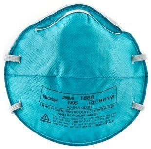 3M 1860 Medical Mask N95, 20 Count by 3M
