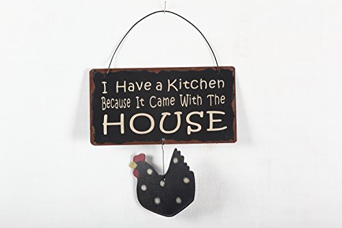 Yk Decor 7 Metal Wisdom Sign Color Wall Art With Hen Welcome And Home Black