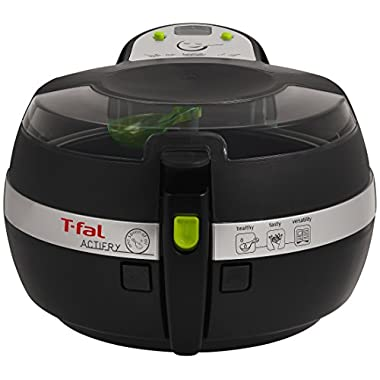 T-fal FZ7002 ActiFry Low-Fat Healthy Dishwasher Safe Multi-Cooker, 2.2-Pound, Black