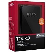 HGST 500GB Touro Mobile 5400 rpm USB 3.0 External Hard Drive