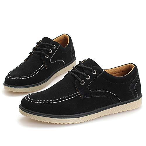 Hombres Estaciones Zapatos Negro Cuatro Encaje Zhongke Deportes Cómodo Ocio n04xq0w5d