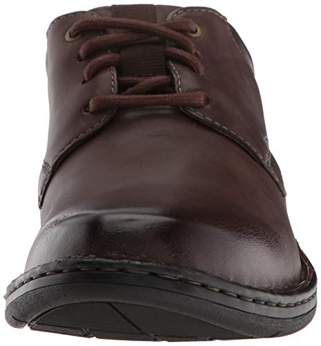 CLARKS Gadson Men's Dark Plain Oxford Leather Brown FqFxAr5w