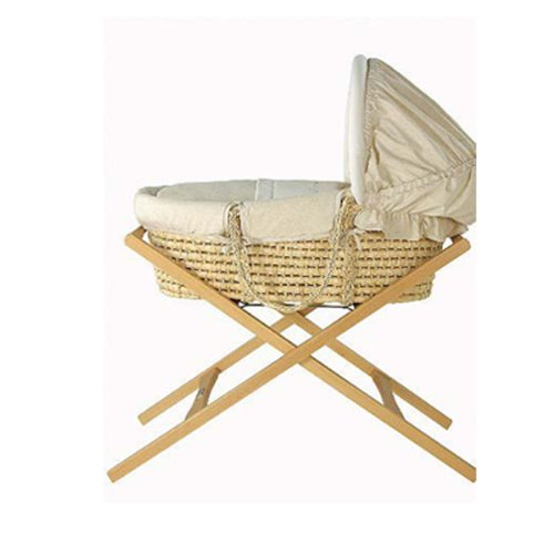 Mamas & Papas Moses Basket/Carrycot Stand (Deluxe, Natural) 7704028