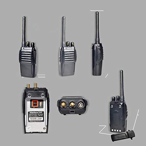 Nelc5kl Walkie Talkies Walkie Talkies for Adults Rechargeable Wireless Walkie Talkies 16Channels UHF 400-470MhzLong Range Two Way Radios with Charger Included Radio (Size : E) by Nelc5kl (Image #2)