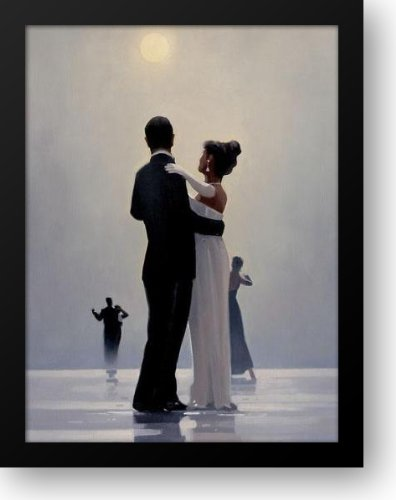 Dance Me To The End Of Love 28x36 Framed Art Print by Vettriano, Jack by ArtDirect