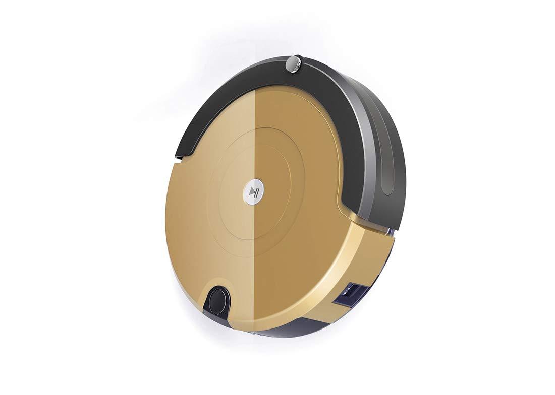 木のフロアーリング/タイル/大理石/カーペットのための1つのスマートなロボット掃除機の家の無線掃除機に付き3つ B07SYJ338R gold