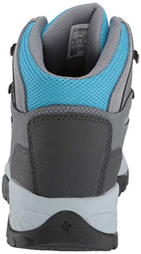Columbia Women's Newton Ridge Plus Hiking Boot, Grey Ash/Riptide, 6 Regular US by Columbia (Image #2)