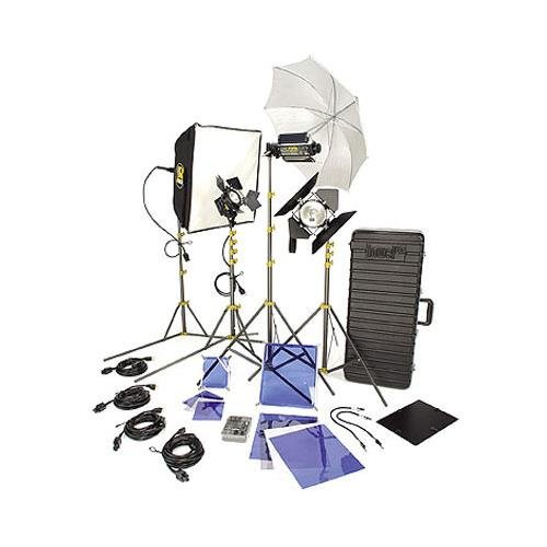 Lowel DV Creator 55 Kit, Analog & Digital Video Lighting Location Kit, with TO-83 Case by Lowel