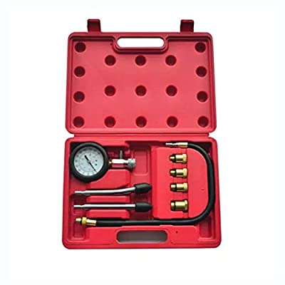 HomyDelight Motor Vehicle Engine Part, 9-Piece Compression Test Kit Gasoline Engine