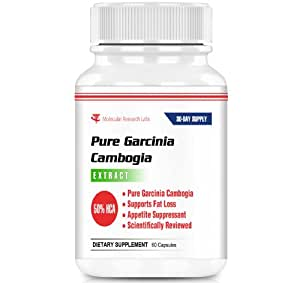 Molecular Research Labs Diet Supplement, Garcinia Cambogia Extract, 750 mg, 60 Count