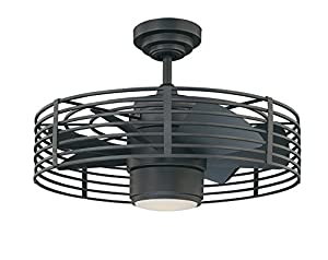 Kendal Lighting Ac17723 Ni Enclave 23 Inch Ceiling Fan