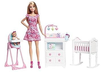 Barbie - Babysitter Dolls y Playset (Mattel DVJ60)