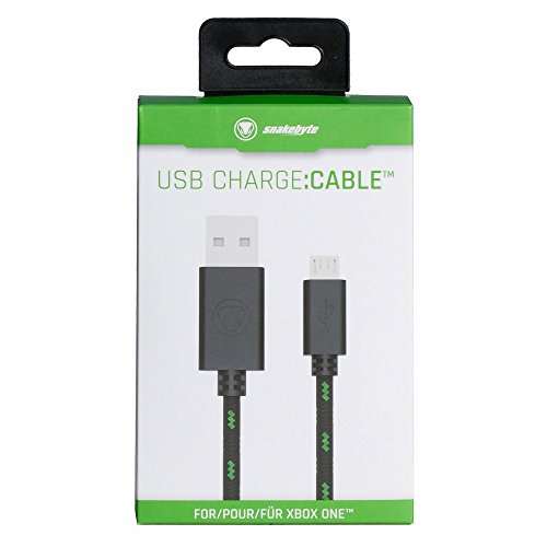 Snakebyte Snakebyte USB Charge:Cable - 3 m (9.84 feet) long Charging Cable for XBOX One Controllers...