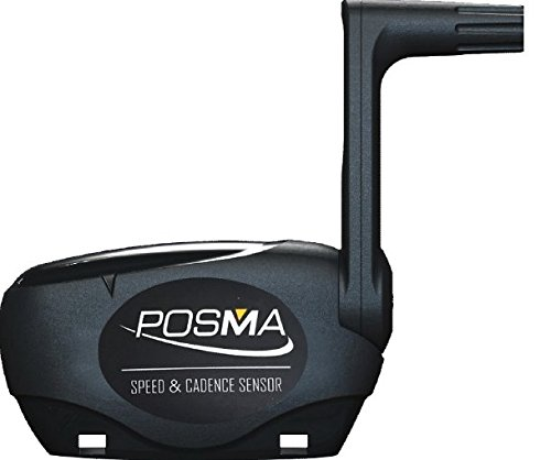 Posma BCB20 Bike Speed/Cadence Combo Sensor for iPhone, Android & ANT Plus Devices Compatible with Bluetooth 4.0 & ANT Plus