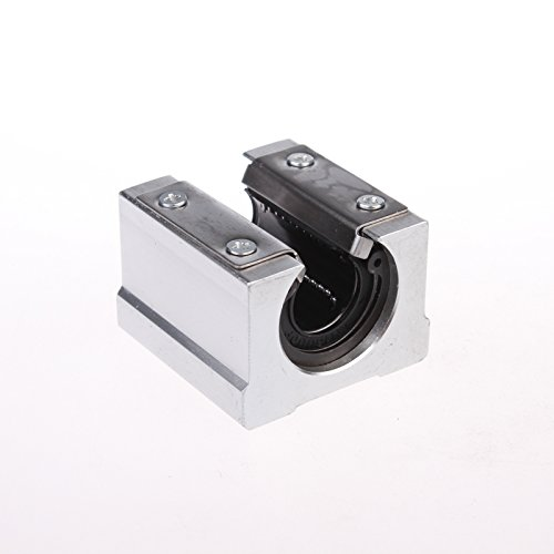 SBR12UU 12mm Open Linear Router Motion Ball Bearing Pillow Block(pack of 4) ()
